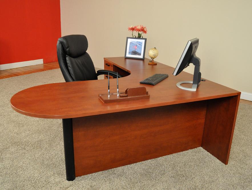 Beau Bullet L Shaped Desk #1 Bullet Front L Shaped Office Desks