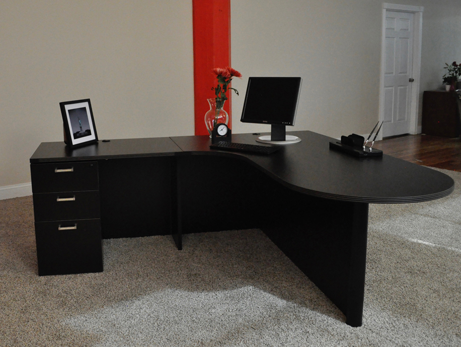 Bullet L Shaped Desk 2 Front Office Desks