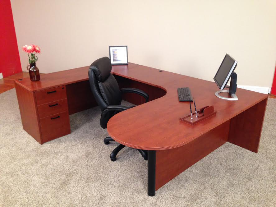 Bullet U Shaped Desk 1 Front Office Desks