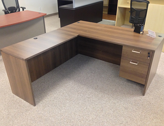 Rectangular Front L Shaped Desks ...
