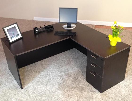 ... Rectangular Front L Shaped Desks ...