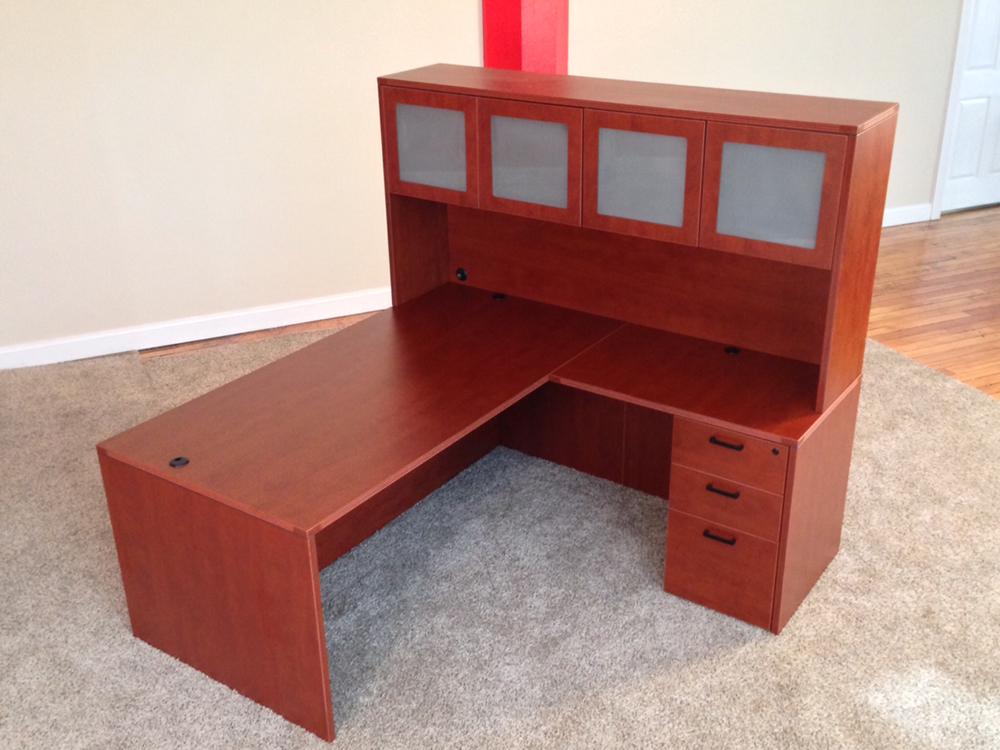 Affordable Office Rectangular L Desk 7 Baystate Office
