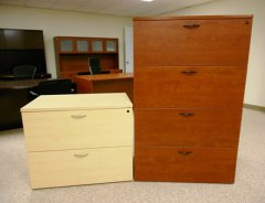 2 & 4 Drawer Lateral Files Baystate Office Furniture Lawrence, MA