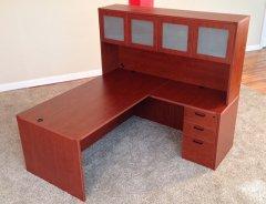 Rectangular Front L Shaped Desks