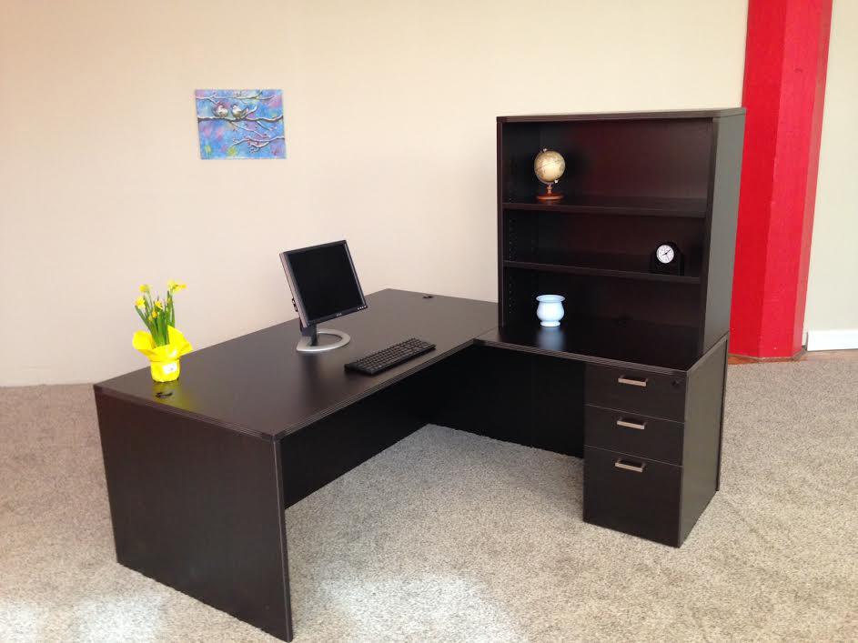 Affordable Office Rectangular L Desk 6 Baystate Office